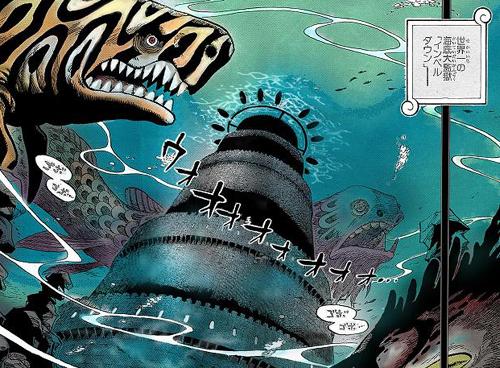 「海底監獄」ONE PIECE(ワンピース)インペルダウン編とは?のサムネイル画像