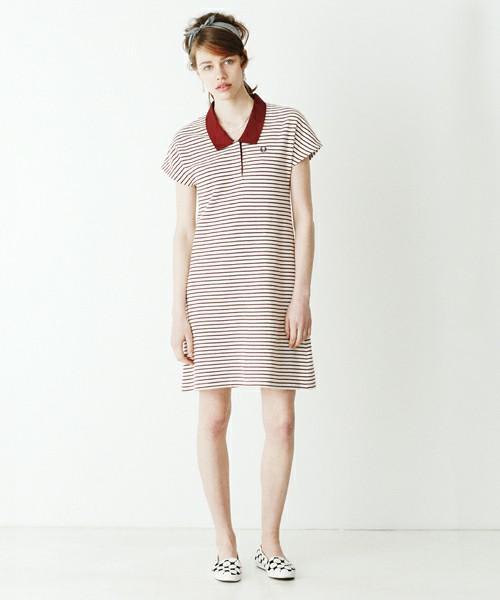 ポロシャツのワンピースがおしゃれ♡カジュアルに着れる♡♡のサムネイル画像