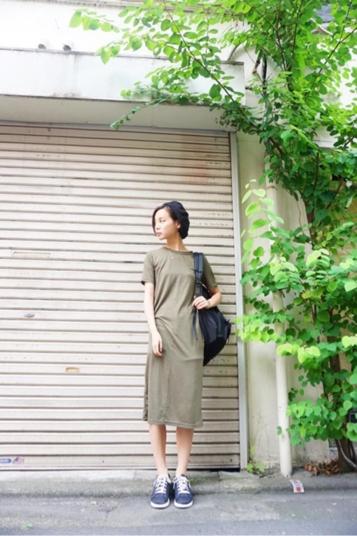 緑のワンピースが可愛い♡絶対チェックしたいファッションアイテム!のサムネイル画像