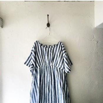 さらりと着こなして♡麻のワンピースで初夏を先取りしよう♡のサムネイル画像