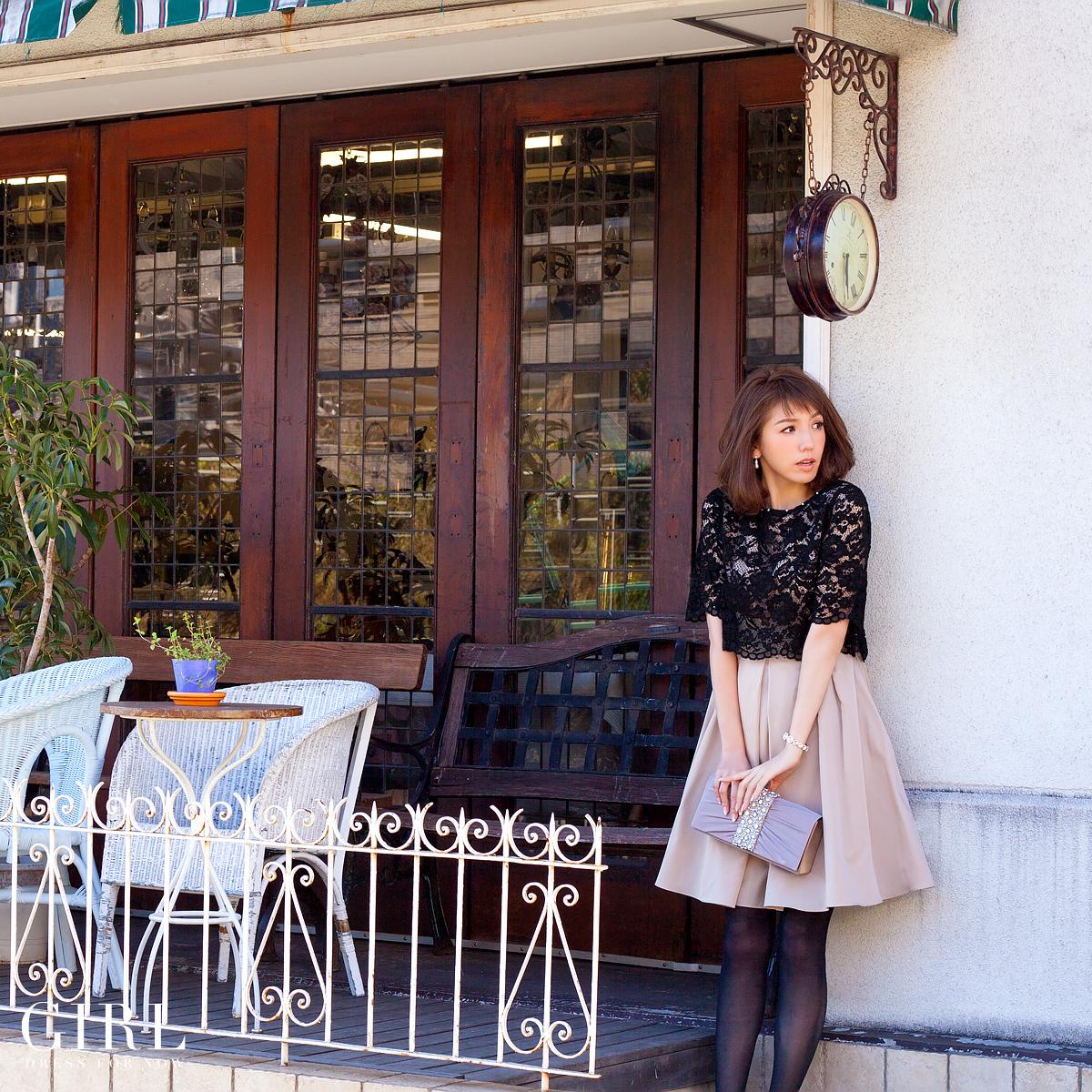 披露宴に着て行きたい♡かわいいワンピースのお呼ばれドレス♡のサムネイル画像